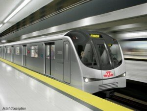 New subway train
